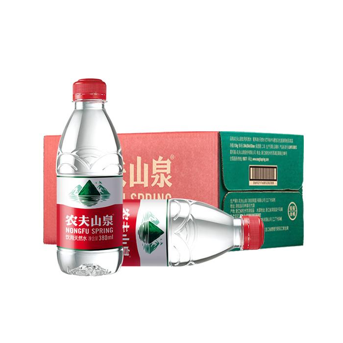 农夫山泉380ML支装水-24瓶